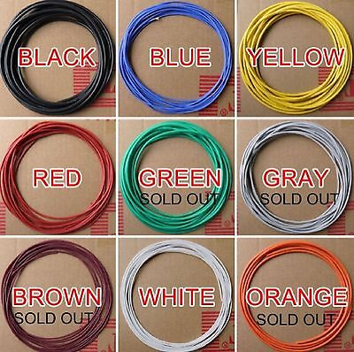 Silicone wire 14awg suit RC Lipo by the metre-various colours