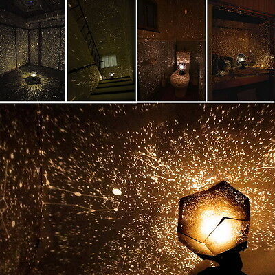 Romantic Adult Science 4 Seasons Star Projection Lamp Constellation Projector HT