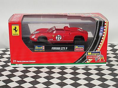 Revell Ferrari 275 P Slot Car Assembly Kit  Red  #22  85-4896 1:32 Bnib
