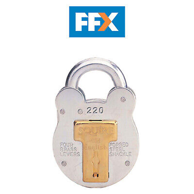 Henry Squire 220 Old English Padlock with Steel Case 38mm