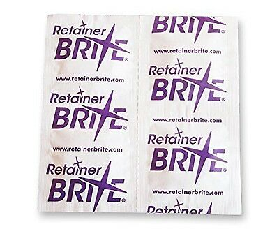 Retainer Brite Cleaning tablets - 96 in Total - Fast Postage - Best Price