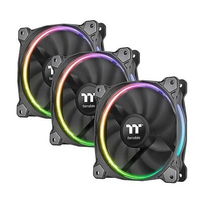 THERMALTAKE Ventole 120x120 Riing led Rgb Fan Software Control/set [B0604783]
