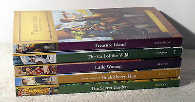 Lot of 5 books ~ CHILDREN'S CLASSICS ~ Illustrated ~ FREE SHIPPING !!