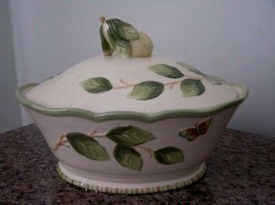 MINT 2004 Fitz and Floyd Covered Casserole~SOMMER HILL~Retired~Rare~Collectible