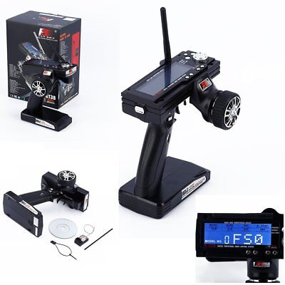 Flysky FS-GT3B 2.4G 3CH Transmitter With Receiver Fail-Safe For RC Car Boat HT