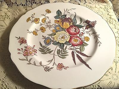 Spode August Dinner Plate Gold Trim
