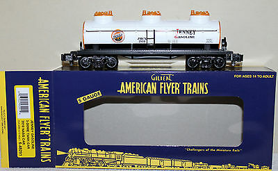 American Flyer 48291 Jenney Gas Three Dome Tank Car in Original Box: 2010 NASG !