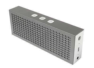 JAM Titanium Rechargeable Bluetooth Wireless Stereo Speaker - Grey - Brand New