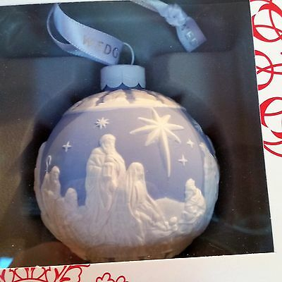 Wedgewood Nativity Ornament NEW IN BOX