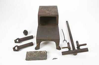 Johnson Gas No. 101 Old Bench Furnace Soldering Blacksmithing For Parts, Repair
