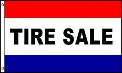 TIRE SALE Flag Automotive Store Banner Advertising Pennant Business Sign New 3x5