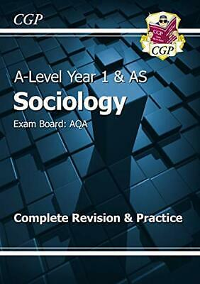 A-Level Sociology: AQA Year 1 & AS Complete Revision & Practice ... by CGP Books