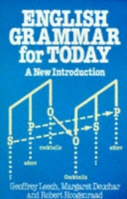 English Grammar for Today: A new introduction by Leech, Geoffrey N. Paperback