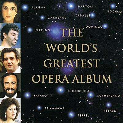 The Worlds Greatest Opera Album -  CD I1VG The Cheap Fast Free Post The Cheap