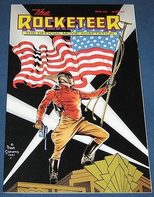 The Rocketeer  The Official Movie Adaptation  1991  Dave Stevens  High Grade NM