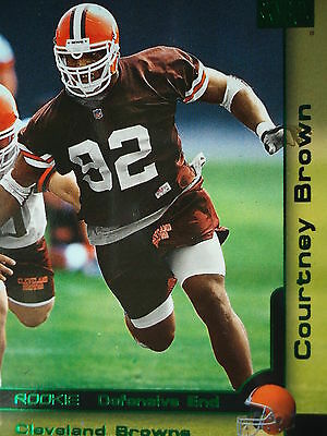201 Courtney Brown Cleveland Browns Skybox 2000 Rookie