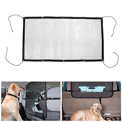 Car Pet Dog Net Mesh SUV Truck Auto Vehicle Back Seat Safety Net Mesh Barrier