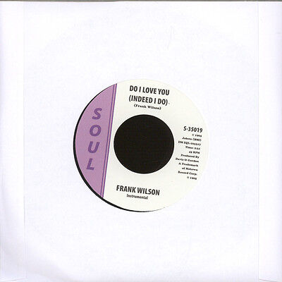 "Frank Wilson - Do I Love You (Indeed I Do) (Vinyl 7"" - 2015 - US - Original)"