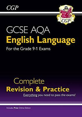 GCSE English Language AQA Complete Revision & Practice - Grade 9... by CGP Books