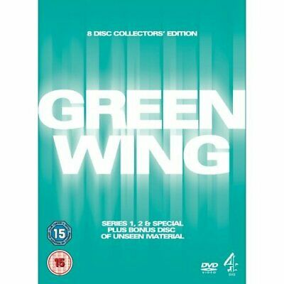 Green Wing Definitive Edition [DVD] - DVD  P2VG The Cheap Fast Free Post