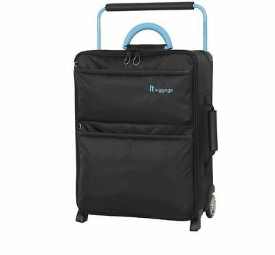 NEW IT Luggage World's Lightest 2-Wheel Small Suitcase - Black
