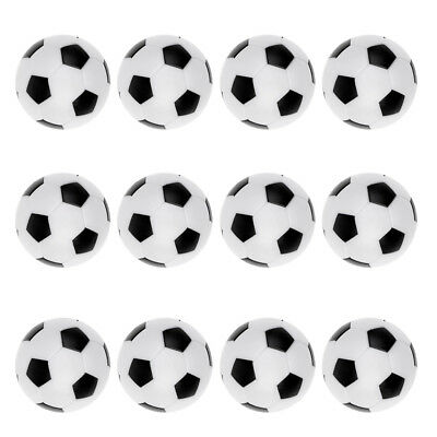 12 Pack 36mm Foosball Balls Fussball Ball Replacement for Soccer Table Game