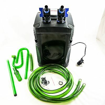 Jebao External Fish Tank Canister Aquarium Filter System 1000 / 1200 LPH