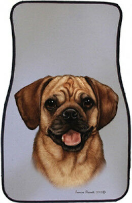 Car Floor Mats Pair - Puggle 36123