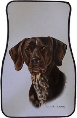 Car Floor Mats Pair - German Shorthaired Pointer 36049