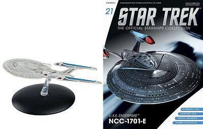 STAR TREK Official Starships Magazine #21 ENTERPTISE 1701 E Sovereign Class