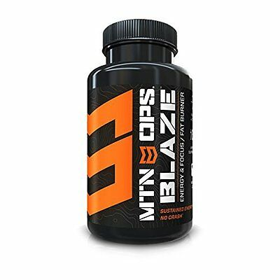 Blaze Weight Fat Burner Supplement - Also for Energy & Focus By Mtn Ops