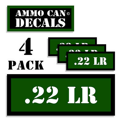 """Ammo Can Labels 454 CASULL Ammunition Case Stickers Ammo Can Decals 4 pack WT 3/"""""""