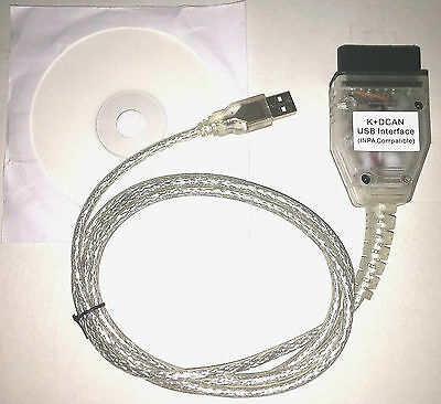 BMW Ediabas Inpa USB K+DCAN OBD2 OBDII EOBD INTERFACE DIAGNOSEGERÄT SCANNER
