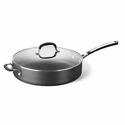 Bestselling Saute Pan & Cover Hard-anodized aluminum for durability - 5-qt