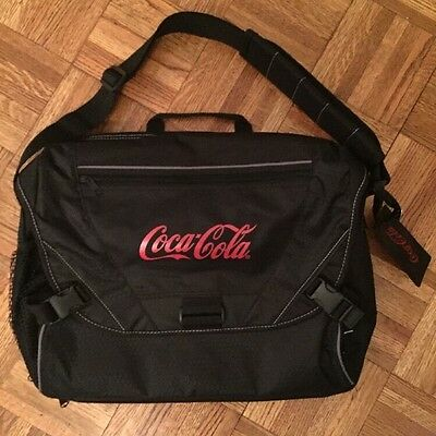 Coca-Cola Messenger Laptop Tablet Shoulder COKE Travel Bag Airport Friendly NEW