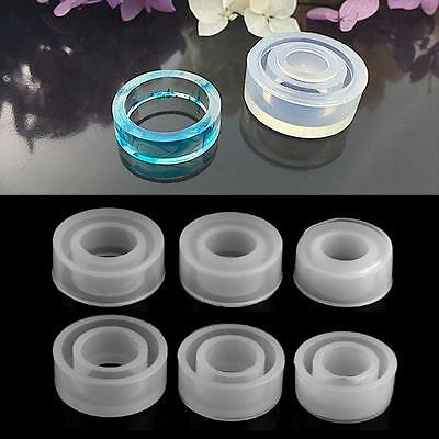 Hot Sale Clear Silicone Molds Making Jewelry Ring DIY Mold 3D Resin Casting Tool