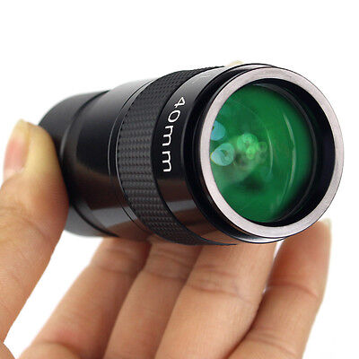 """New 1.25""""Plossl 40mm Eyepiece Fully Multi Coated Metal for Astronomy Telescope Y"""