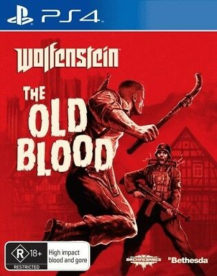Wolfenstein The Old Blood = NEW PS4-Game
