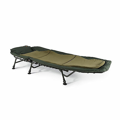 Cyprinus Cyprimax 6 leg Carp Fishing Bedchair bed chair  FREE MEMORY FOAM PILLOW