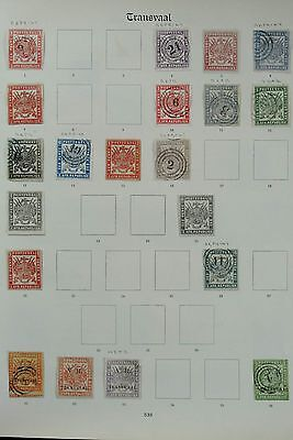 Lot 26975 Collection stamps of Transvaal.