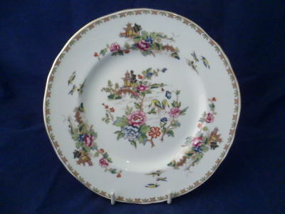 "CROWN STAFFORDSHIRE ""PAGODA"" 18cm SIDE PLATES"