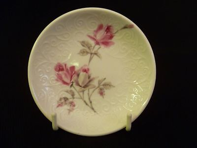 Crown Staffordshire Pink Rose 9.5cm Butter Patt Dish