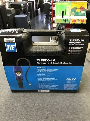 Micro Processor Controlled Portable Leak Detector, Tif, TIFRX-1A (NEW) Free Ship
