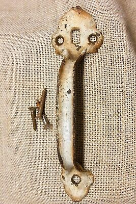 "7 1/2"" Thumb Latch screen handle gate barn door Pull old rustic shabby paint"