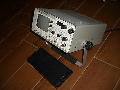 AVCOM Portable Spectrum Analyzer Model PSA-37D *WORKING AS SEEN IN PICS* & NR