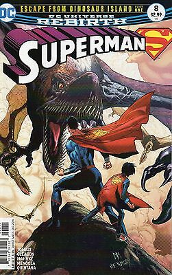 Superman #8 (NM)`16 Tomasi/ Gleason/ Mahnke