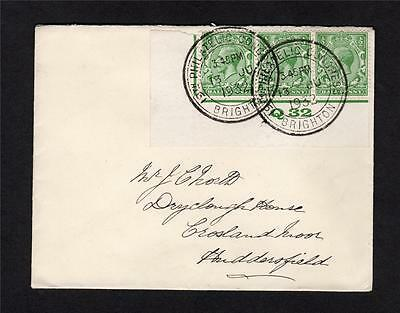 1932 Philatelic Congress Cancels Used On Control Strip On Cover