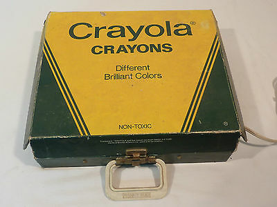 Reklame Crayola Crayons Turntable Made In Usa Von 1981