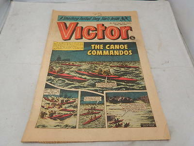 THE VICTOR COMIC No 655 ~ Sept 8th 1973 ~ The Canoe Commandos