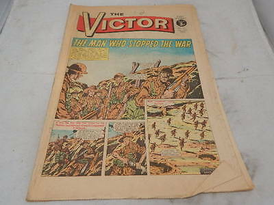 THE VICTOR COMIC No 621 ~ Jan 13th 1973 ~ The Man Who Stopped The War